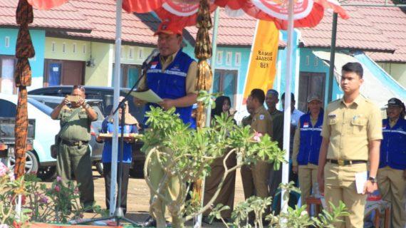 Bupati Kukuhkan Pengurus Kampung Siaga Bencana Pertama Di Sumbawa Barat
