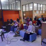 Pertemuan Rutin Dharma Wanita yang dirangkaikan dengan  Sosialisasi Kanker Serviks